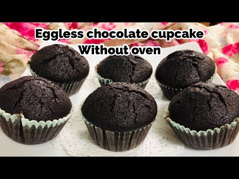No Egg/No Condensed Milk Chocolate Cupcake Without Oven