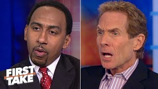 Skip Bayless: 'Pretty Boy Floyd' is scared of Manny Pacquiao (2012) | First Take | ESPN Archive