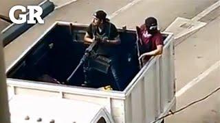 Desatan grupos armados balaceras en Culiacán