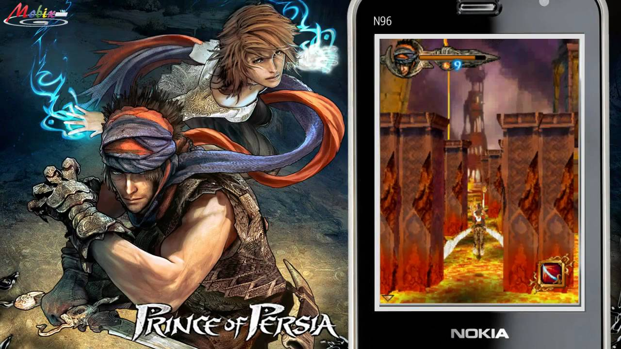 Hd Gameloft Prince Of Persia Hd 2008 Pocket Pc Symbian Game Youtube