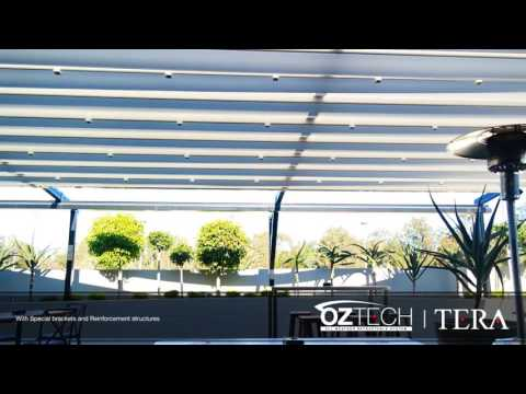 Retractable Pergolas, Awning, Blind and OZTECH