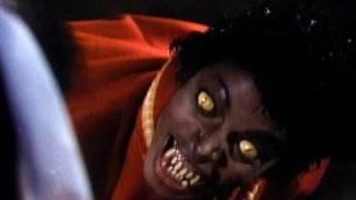 Risa Macabra en el video Thriller