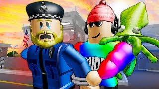 Arresting the Worst Cop in Roblox! A Roblox Movie
