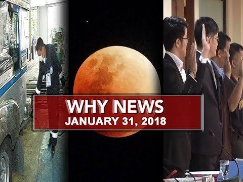 UNTV: Why News (January 31, 2018)