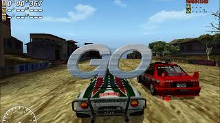 SEGA Rally 2 (PC) - First Online Mode Footage Ever!! (and actual gameplay)
