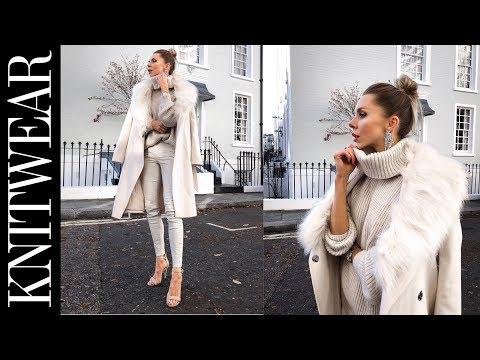 HAUL & TRY ON // Cyber Weekend Sales // Knitwear, Coats, H&M, Zara, River Island, Asos