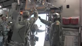 U.S. Army Airborne Paratroopers Exit C-17, JBER Alaska!