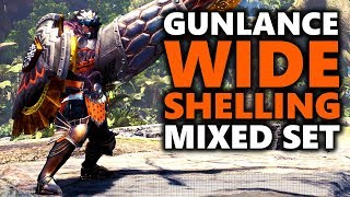 GUNLANCE WIDE SHELLING BUILD - Facebuster - Monster Hunter World
