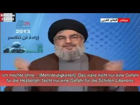 Sayyed Hassan Nasrallah 'Warum die Hisbollah in Syrien eingreifen musste'