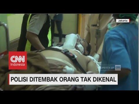 Dua Polantas Ditembak Tiga Orang Tak Dikenal