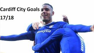 Cardiff City 2017/18 All League Goals