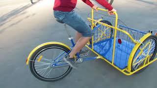 Грузовой велосипед, Трехколесный велосипед, Велосипед для перевозки грузов, Cargo bike,  Tricycle