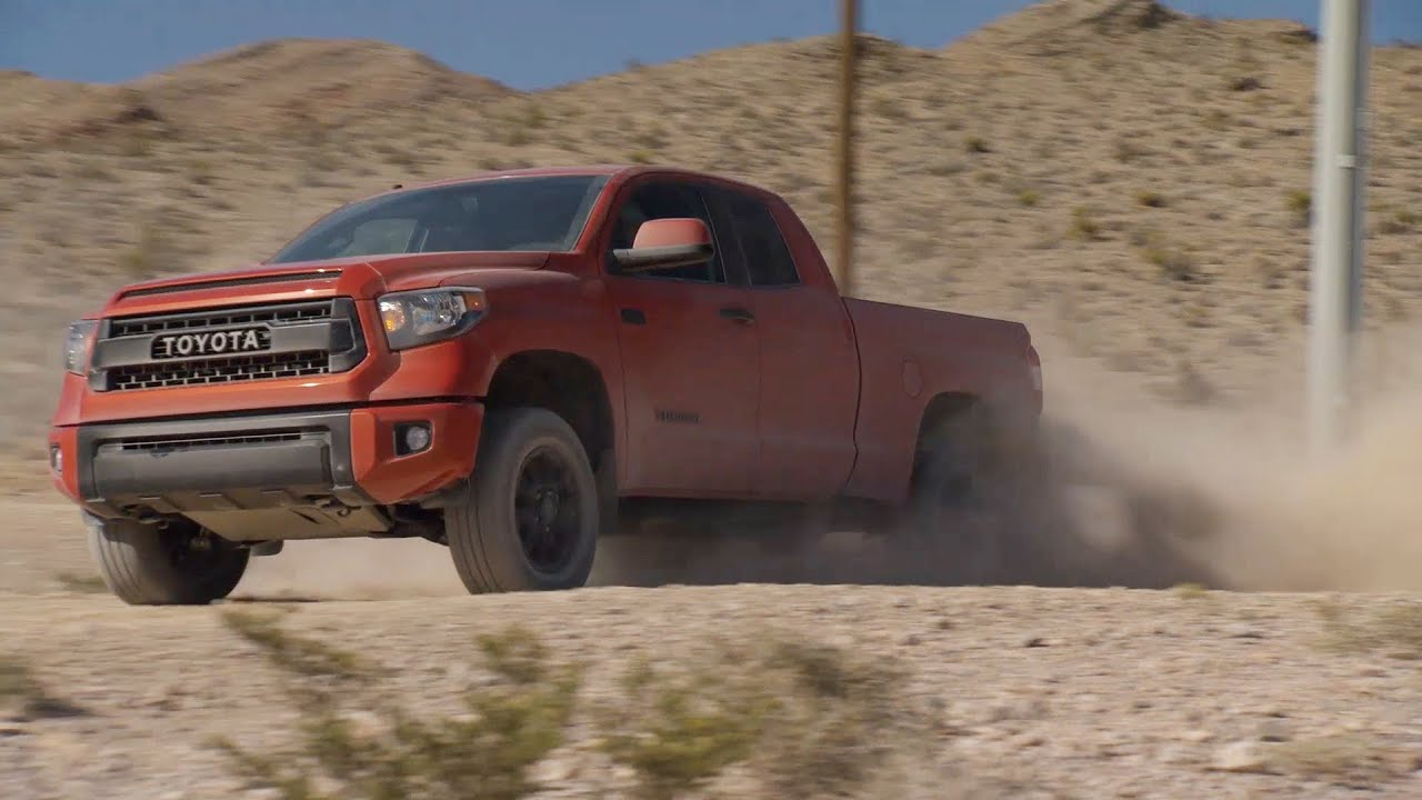 NEW 2015 Toyota Tundra TRD Pro - Offroad Test Drive - YouTube