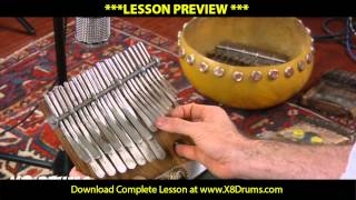 How to Play Nhemamusasa on Mbira with Joel Laviolette - X8 Drums