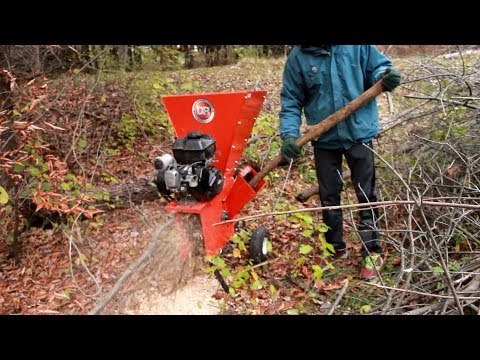 Super Cheap Yard Sale DR Chipper Review and Use