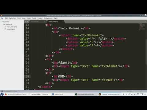 Cara Membuat Aplikasi Crud Dengan Php Dan Mysql