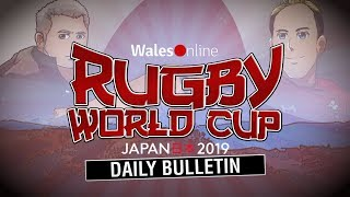 Rugby World Cup daily bulletin October 18