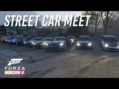 Forza Horizon 4 | 800HP Street Car Meet - Cruise & HWY Runs w/ '17 GTR, R34, Prelude, EK9, & More thumbnail