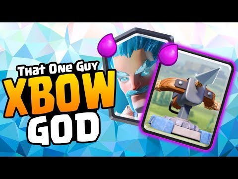 YOU CAN'T BEAT HIM! BEST X-BOW DECK! Ft That One Guy | Clash Royale