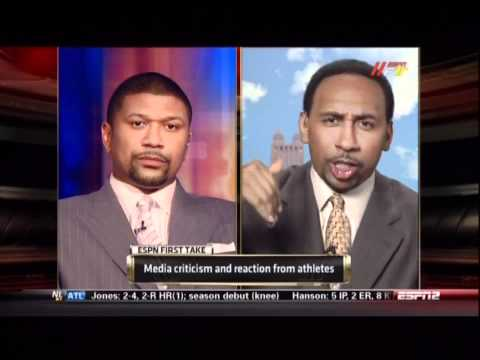 Jalen, Skip, and Stephen A. debate media criticism Pt.3 of 5