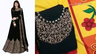 Amazon Anarkali Gown dress unboxing Amazon Party Wear long gown review Gown online shopping