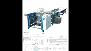Automatic paper feed and pasting machine