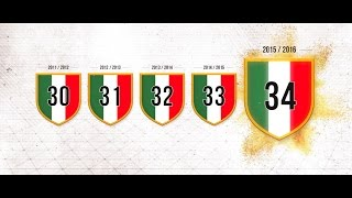 Juventus, un trionfo lungo 5 anni - Five years of glory
