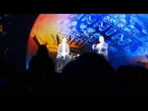 "Peyton Manning explaining ""Omaha"" at Adobe Summit"