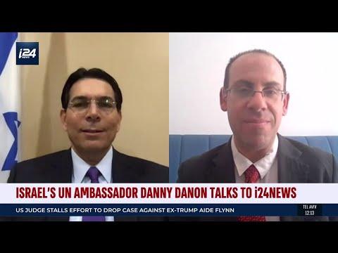 Israeli Ambassador The UN Danny Danon Discusses Sovereignty Over The West Bank