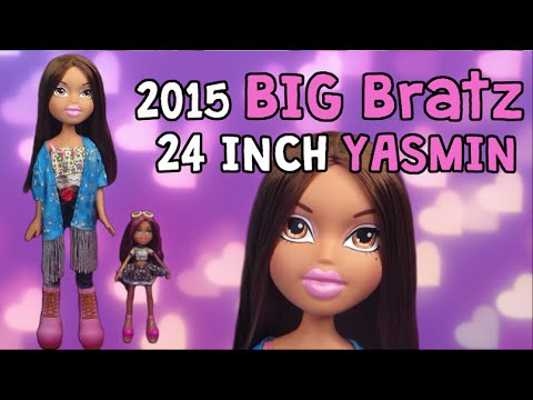 NEW 2015 BIG Bratz Yasmin 24 Inches Tall! Large Doll Unboxing And Review!! ♥
