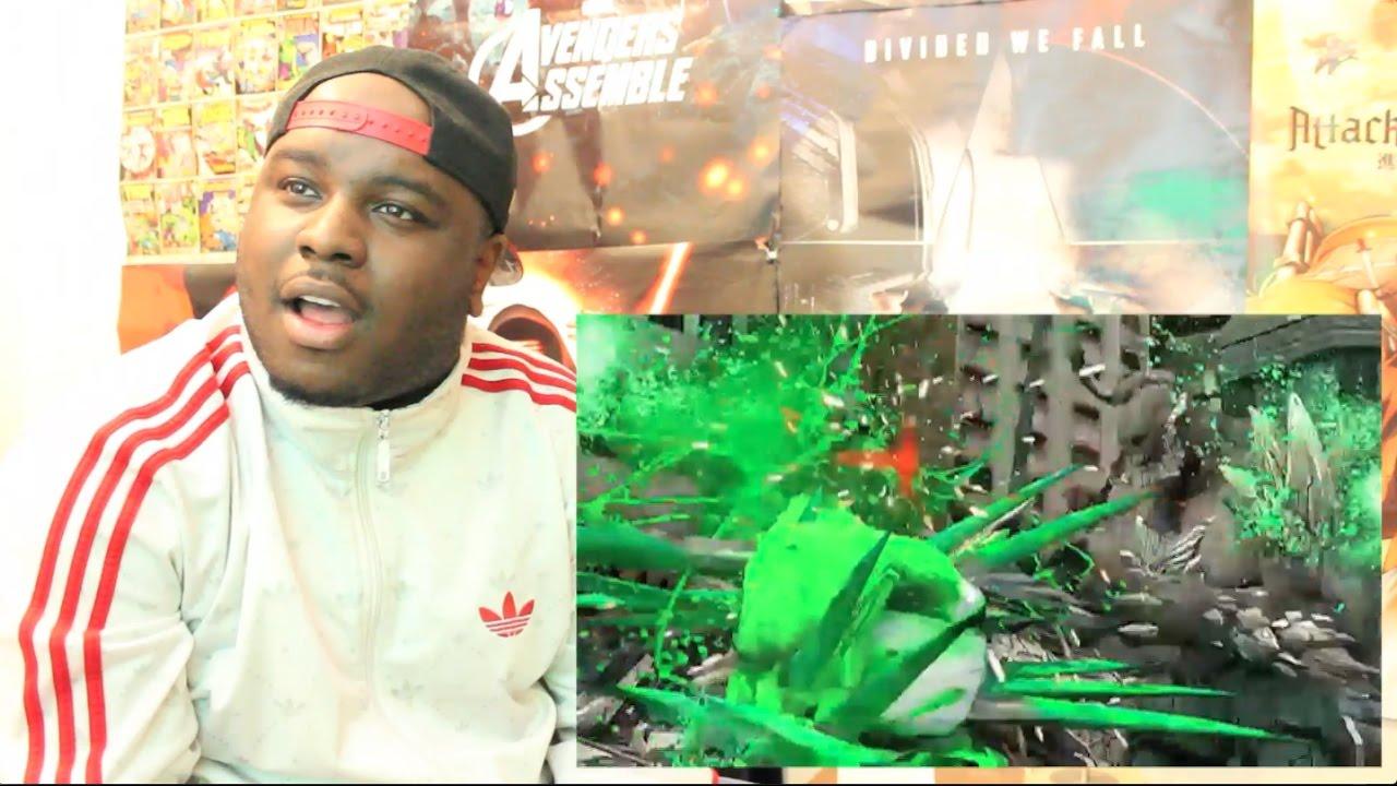 HULK VS DOOMSDAY | DEATH BATTLE! REACTION + THOUGHTS ... Doomsday Vs Hulk Death Battle Reaction