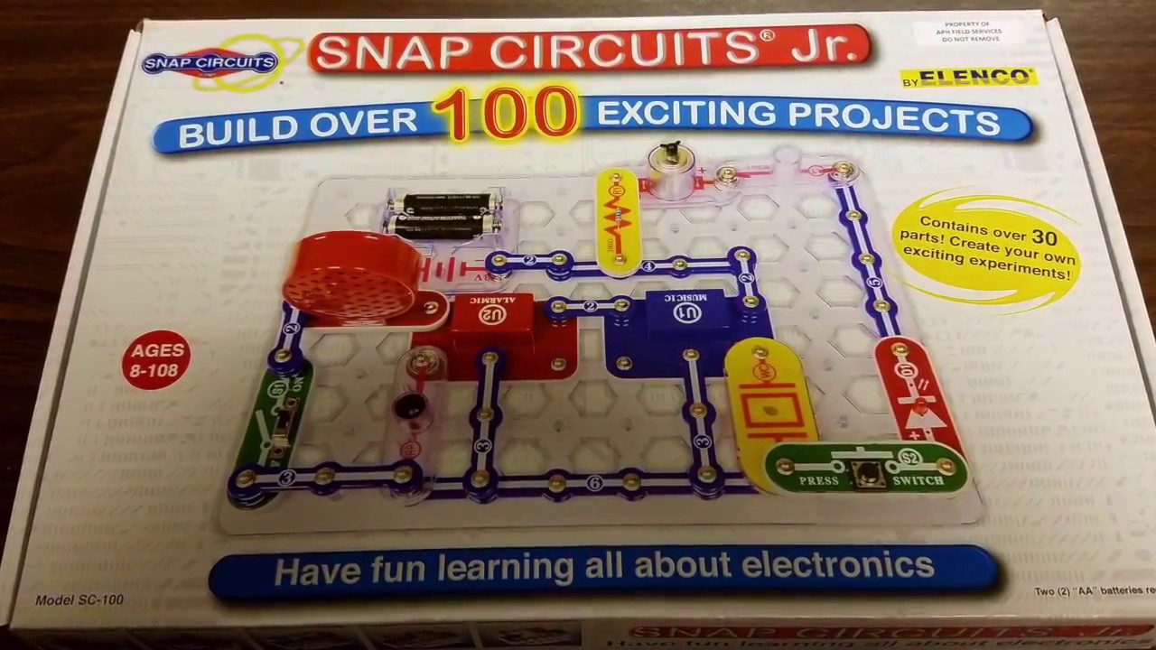 Snap Circuits Jr Youtube Great Installation Of Wiring Diagram Elenco Flying Saucer Easy To Build Provides Hours Fun Quick Tip Access Kit Rh Com Circuit Pieces