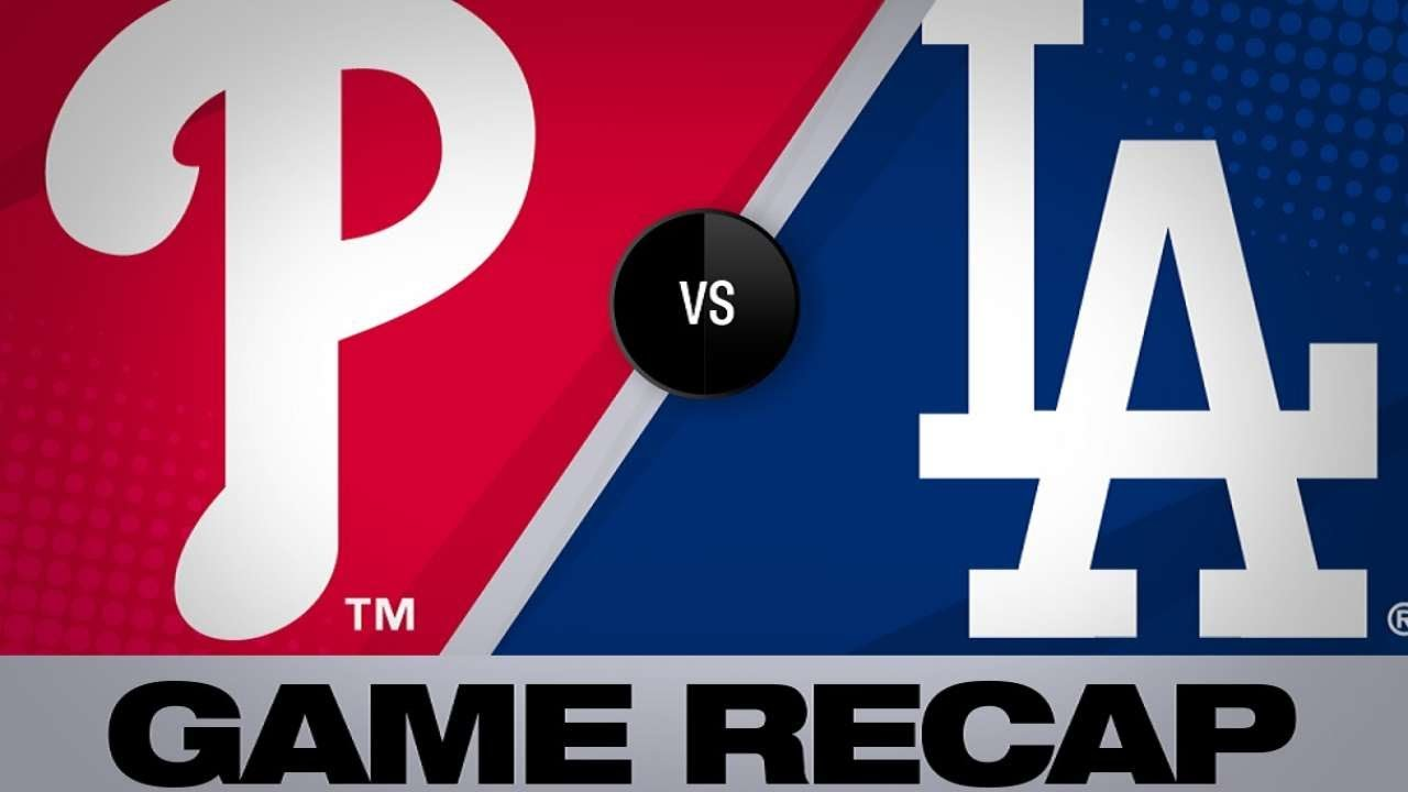 5/31/19: Maeda, Dodgers' HRs lead to win vs  Phillies