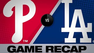 5/31/19: Maeda, Dodgers' HRs lead to win vs. Phillies