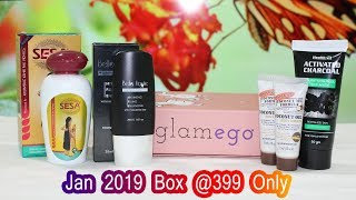 Glamego January 2019 Subscription Box | Unboxing | Tamil Beauty Tips