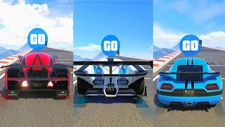 AUTARCH vs PROTO vs CYCLONE!! GTA V ONLINE TEST DE VELOCIDAD