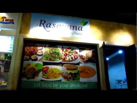 Rasayana Raw Living Food Cafe Emporium Mall Shitake Sandwich Nut Loaf Vegetarian - Phil in Bangkok