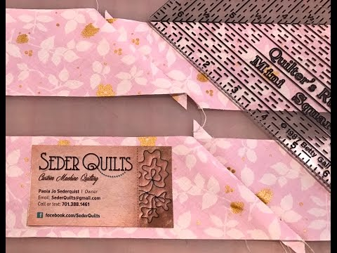How to Make Bias Binding ~Quick Tip Tuesday with Paola Jo from Seder Quilts