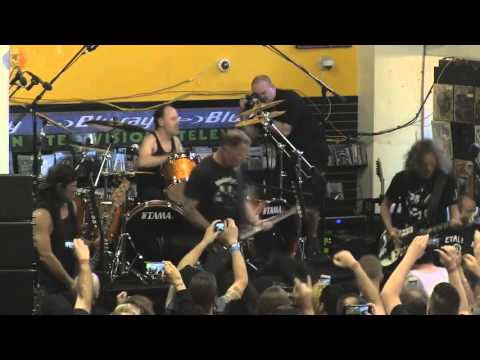 Metallica - Full live in Rasputin, Berkeley - 16 April 2016
