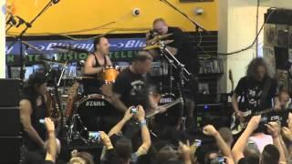 Metallica - Full live in Rasputin, Berkeley - 16 April 2016