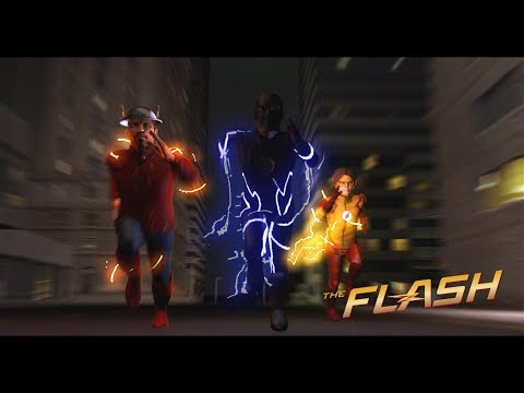 The Flash - CW Inspired C4D Animated Series Episode 1 (Pilot)
