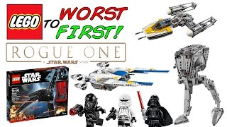 LEGO Worst To First | All LEGO Star Wars Rogue One Sets