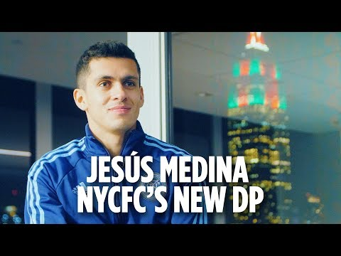 Jesús Medina: NYCFC's new Designated Player | First Interview