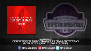 League of Starz Ft. Sage The Gemini & Marko Pen - Throw It Back [Instrumental]