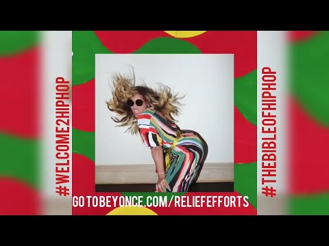 BEYONCE RELEASES NEW MIGENTE REMIX FOR HURRICANE RELIEF IN PUERTO RICO MEXICO & CARIBBEAN ISLANDS