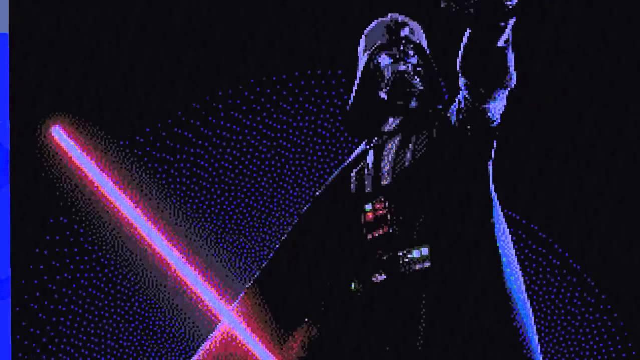 Darth Vader Pixelart Youtube