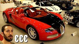Des Millions d'€ de Supercars à vendre aux enchères à Monaco!