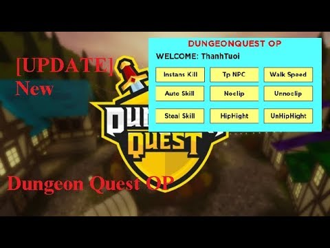 dungeon quest roblox hack free