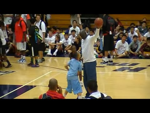 Michael Jordan Dunk at age 50