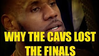KOBE BRYANT EXPLAINS WHY THE CAVALIERS LOST REACTION!